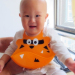 Fashion & Soft Silicone Bibs with crumb catcher for Baby bib