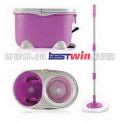 Hand Press Spin Mop magic mop 2014 new type mini magic mop