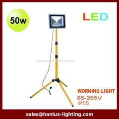 With bracket LED flood light