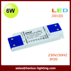 6W super slim led driver