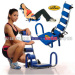 Back Extension Exercise Equipment AB Machine Fitness