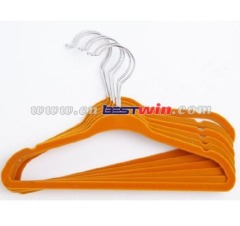 6pcs Plastic hanger as seen on tv hot sell