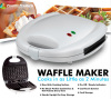 Kitchen Gourmet Electric 2 Slice Mini Waffle Maker
