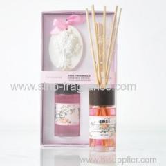 fragrance reed diffuser set with clay