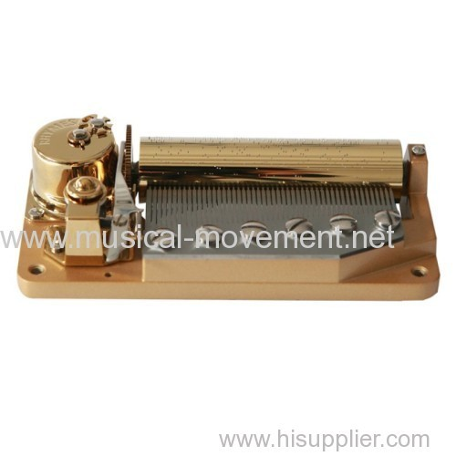 DELUXE WIND UP MUSIC BOX MOVEMENT LARGE 50 NOTE