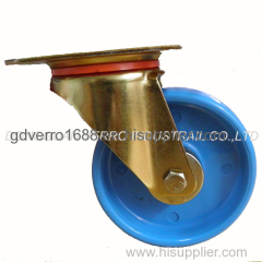 108mm industrial swivel PP casters