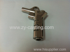 shape like a gun decoration stainless steel 304 silica sol casting