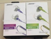 New Package Bose SIE2i In-Ear Sport Earbud Headphones W/In-Line Remote and MIC
