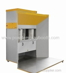 industrial powder coating spray booth