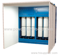 Cartridge Recovery paint booth systems