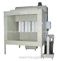 portable Powder Coating Cabinet
