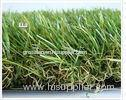 Deep Green or White Sports Landscape Tennis Artificial Turf / Synthetic Lawn 20mm 8800dtex