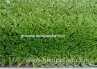 Olive Green , White Tennis Outdoor 10mm Artificial Grass For Landscaping