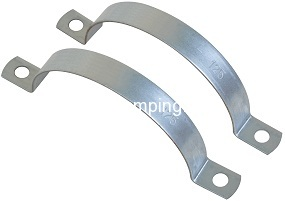 Split clamp for suspension duct
