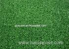 Fire Resistant PE Tennis Court Turf , Green Futsal Artificial Grass For Lanscape
