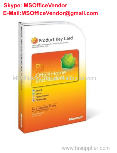 microsoft office 2010 student and home