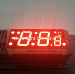 Custom 7 segment ; temperature indicator display;refrigerator display;customized led display