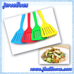 FDA & LFGB 12inch Silicone spoon cooking ware in Yellow