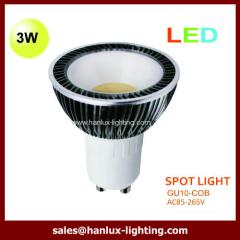 GU10 COB spotlight light