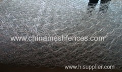 Galvanized Woven Hexagonal Wire Mesh