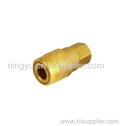 Wholesale High Quality but Cheap Price USA Industrial milton type brass quick release hydraulic couplings