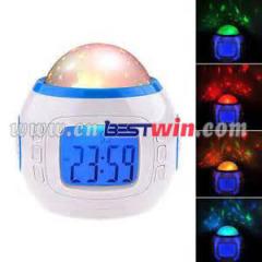 Alta qualidade de projeção relógio despertador digital LED vários moda