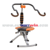 Outdoor fitness equipment ab chair