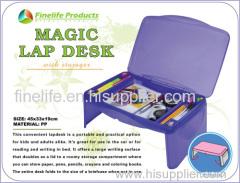 Magic Lap Desk/plastic lap desk/plastic magic lap desk