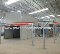 large powder coating oven