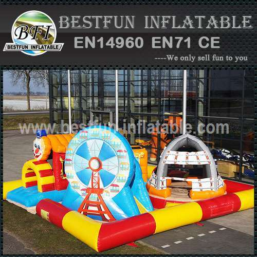 Inflatable Playzone Super Cirque
