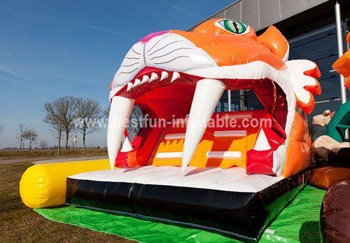 Inflatable fun city for amusement park