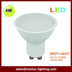 4W GU10 LED lighting