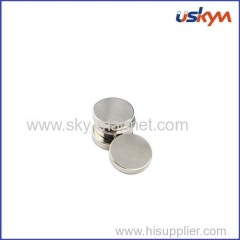 Round shape rare earth magnet