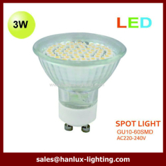 3W SMD GU10 LED