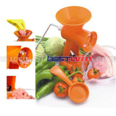 Multi Function Manual Healthy hand operated meat mincer