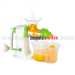 Plastic hand juicer machine easy cleaning
