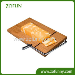 Supplier Cheese slicer with Bamboo cutting board