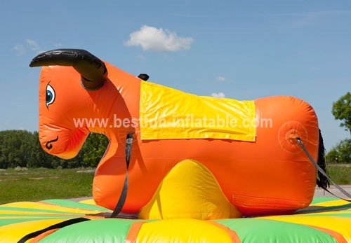 Cheapest factory inflatable rodeo bull