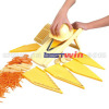 5 in 1 plastic vegetable slicer
