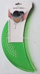 Plastic kitchen pot strainer wok drainer