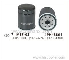 Oil filter for Terios.Corolla.New Previa2.4 or 3.0.06 Previa TC50.Prado4000