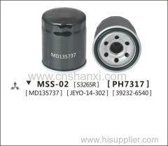 Oil filter for Zunchi