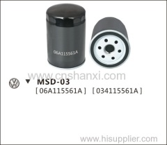 oil filter for Passat B5 1.8L or 2.4L or 2.8L