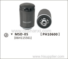 oil filter for POLO1.6.SAGITAR2.0L