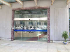 automatic slide doors for factory building