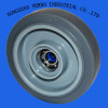 5 inches grey TPE caster wheel