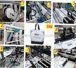 LCD ultrasonic pp nonwoven cloth handle / carrier / zipper bag manufacturing machine