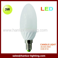 3W LED light candle