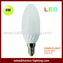 E14 5W LED bulbs