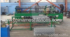 Chain LInk Mesh Fence Making Machine